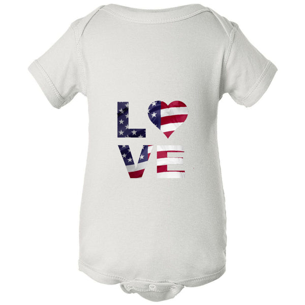 Love USA Infant Fine Jersey Bodysuit