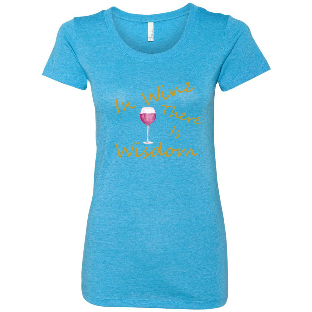 Wine & Wisdom Women's Triblend Short Sleeve Tee