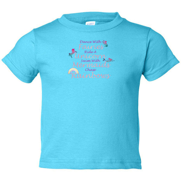 Dance With Fairies Toddler Cotton Jersey Tee