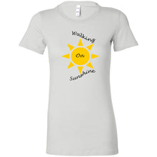 Load image into Gallery viewer, Walking On Sunshine Women's The Favorite Tee