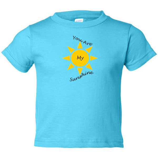 You Are My Sunshine Toddler Cotton Jersey Tee
