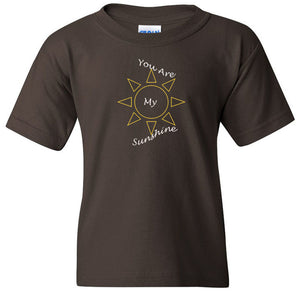 You Are My Sunshine Heavy Cotton Youth T-Shirt