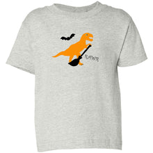 Load image into Gallery viewer, RAWR Halloween Toddler Cotton Jersey Tee