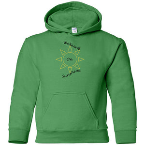 Walking On Sunshine Heavy Blend Youth Hooded Sweatshirt