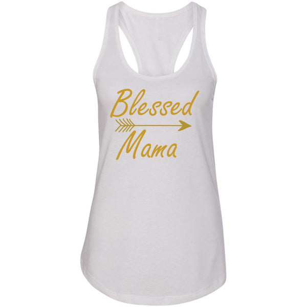 Blessed Mama Women's Ideal Racerback Tank