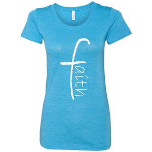 Faith Women's Triblend Short Sleeve Tee