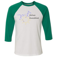 Load image into Gallery viewer, Sirius Sunshine Unisex Three-Quarter Sleeve Baseball T-Shirt