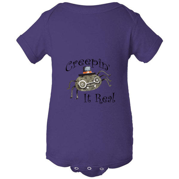 Creepin' Infant Fine Jersey Bodysuit