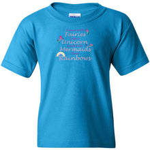 Load image into Gallery viewer, Dance With Fairies Heavy Cotton Youth T-Shirt