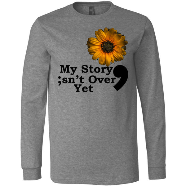 My Story Long Sleeve Jersey Tee