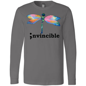 Invincible Long Sleeve Jersey Tee