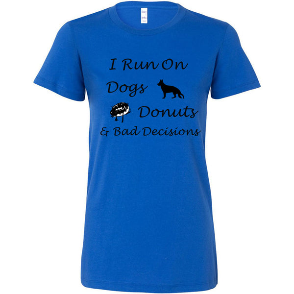 Dogs, Donuts, Decisions Women's The Favorite Tee