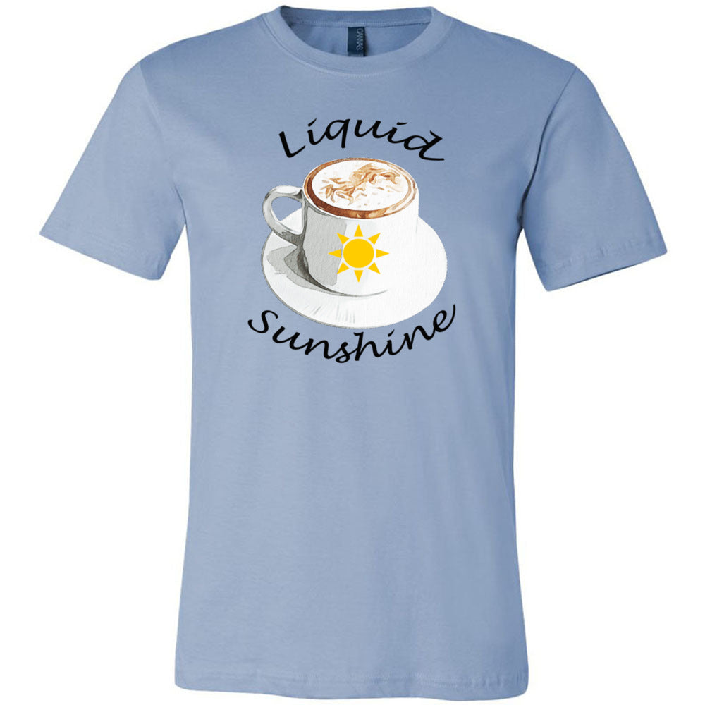 Liquid Sunshine Unisex Short Sleeve Jersey Tee