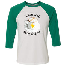 Load image into Gallery viewer, Liquid Sunshine Unisex Three-Quarter Sleeve Baseball T-Shirt