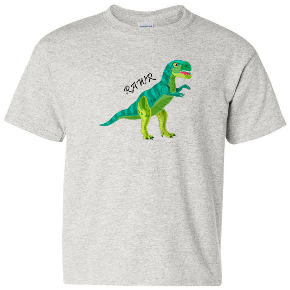 RAWR Cotton Youth T-Shirt