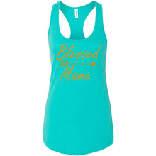 Load image into Gallery viewer, Blessed Mama Women's Ideal Racerback Tank