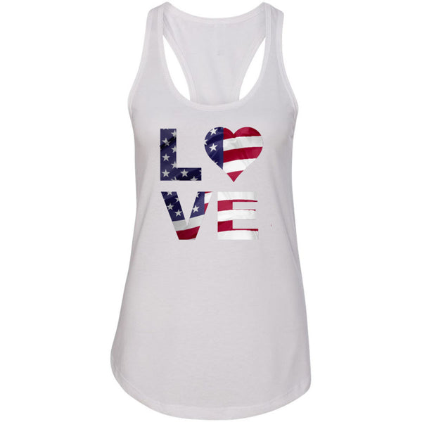 Love USA Women's Ideal Racerback Tank