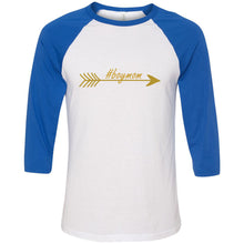 Load image into Gallery viewer, #boymom Unisex Three-Quarter Sleeve Baseball T-Shirt