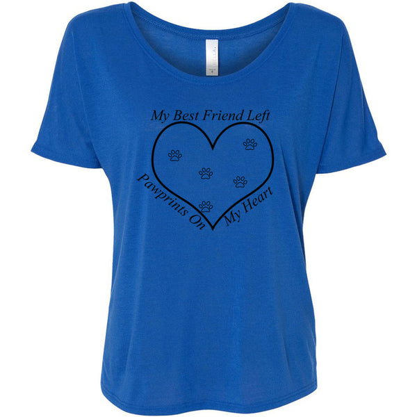 PawPrints Women's Slouchy Tee