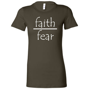 Faith Over Fear Women's The Favorite Tee