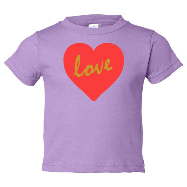 Love Toddler Cotton Jersey Tee