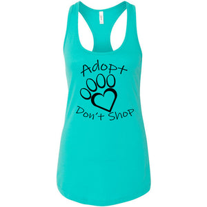 Adopt Don't Shop Women's Ideal Racerback Tank