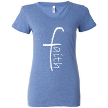 Load image into Gallery viewer, Faith Women's Triblend Short Sleeve Tee