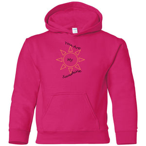 You Are My Sunshine Heavy Blend Youth Hooded Sweatshirt