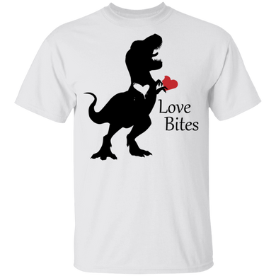 Trex Heart Gildan Youth 100% Cotton T-Shirt