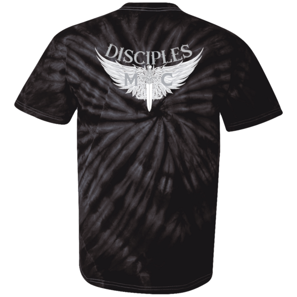 Disciples MC White 100% Cotton Tie Dye T-Shirt