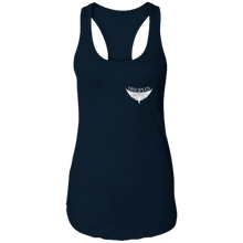 Load image into Gallery viewer, Disciples MC White FC Ladies Ideal Racerback Tank