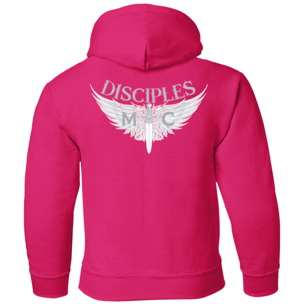 Disciples MC White Gildan Youth Pullover Hoodie