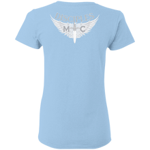 Load image into Gallery viewer, Disciples MC White Poet Gildan Ladies' T-Shirt