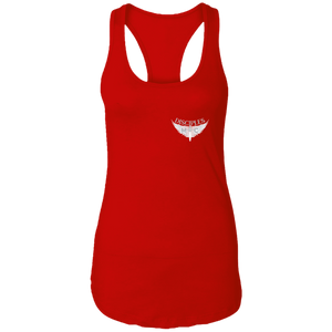 Disciples MC White FC Ladies Ideal Racerback Tank