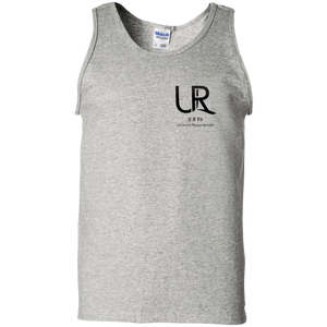 U R Fit w/words Gildan 100% Cotton Tank Top