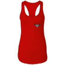 Load image into Gallery viewer, Disciples MC Black FC Next Level Ladies Ideal Racerback Tank