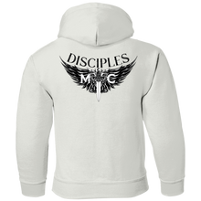 Load image into Gallery viewer, Disciples Black Gildan Youth Pullover Hoodie