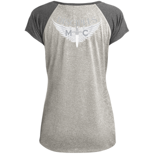 Disciples MC White Axel Ladies Performance T-Shirt