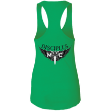 Load image into Gallery viewer, Disciples MC Black Blade Next Level Ladies Ideal Racerback Tank