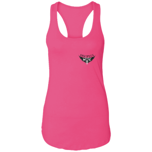 Disciples MC Black FC Next Level Ladies Ideal Racerback Tank