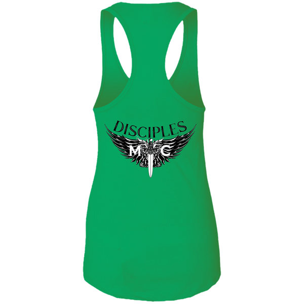 Disciples MC Black Next Level Ladies Ideal Racerback Tank