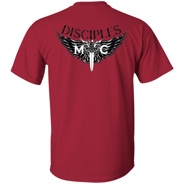 Disciples MC Black Gildan. T-Shirt