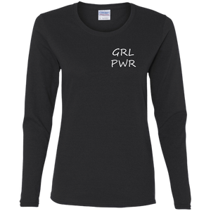 GRL PWR Ladies' Cotton LS T-Shirt