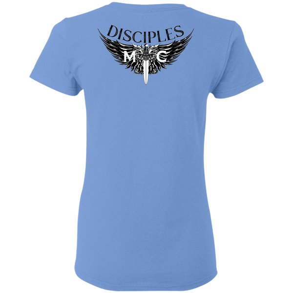 Disciples MC Black Gildan Ladies' T-Shirt