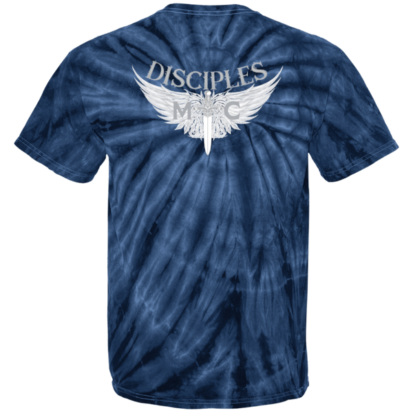 Disciples MC White Blade 100% Cotton Tie Dye T-Shirt