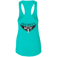 Load image into Gallery viewer, Disciples MC Black Axel Next Level Ladies Ideal Racerback Tank