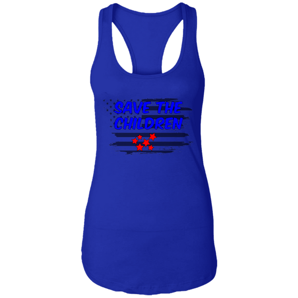 Save The Children Ladies Ideal Racerback Tank