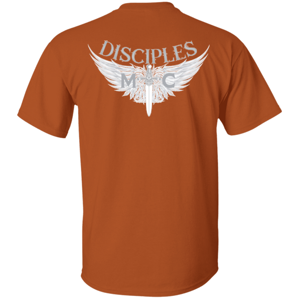 Disciples MC White Poet Gildan T-Shirt