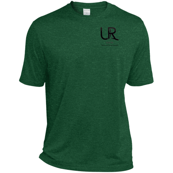 U R Fit w/words Sport-Tek Heather Dri-Fit Moisture-Wicking T-Shirt