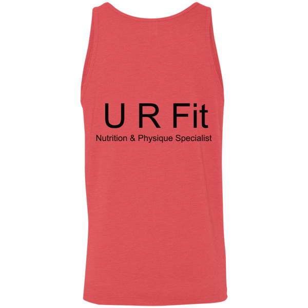 U R Fit w/words Bella + Canvas Unisex Tank